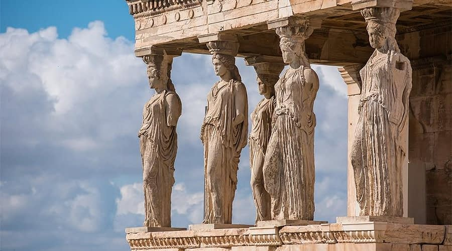The Truth Behind the Lost Statue of Athena and the Virgins of the Parthenon